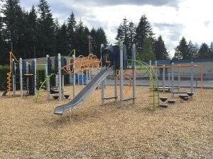 North Otter Playground - Giving Back - On Line Collision Auto Body Langley