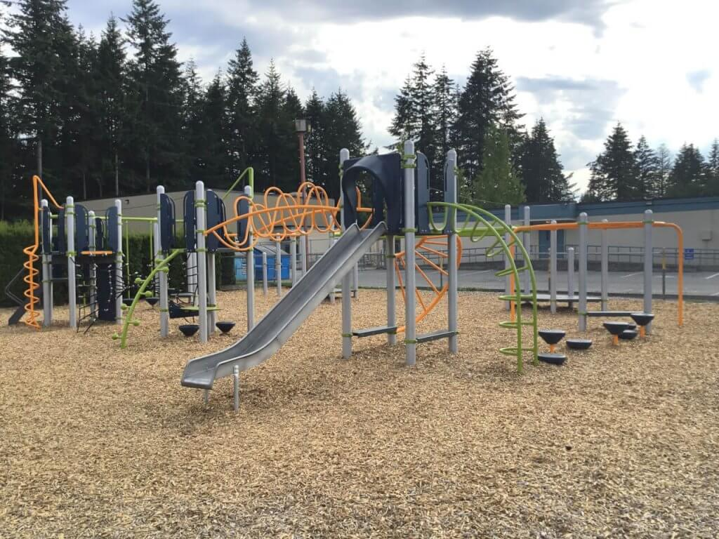 North Otter Elementary school playground On line Collision auto body repair Langley