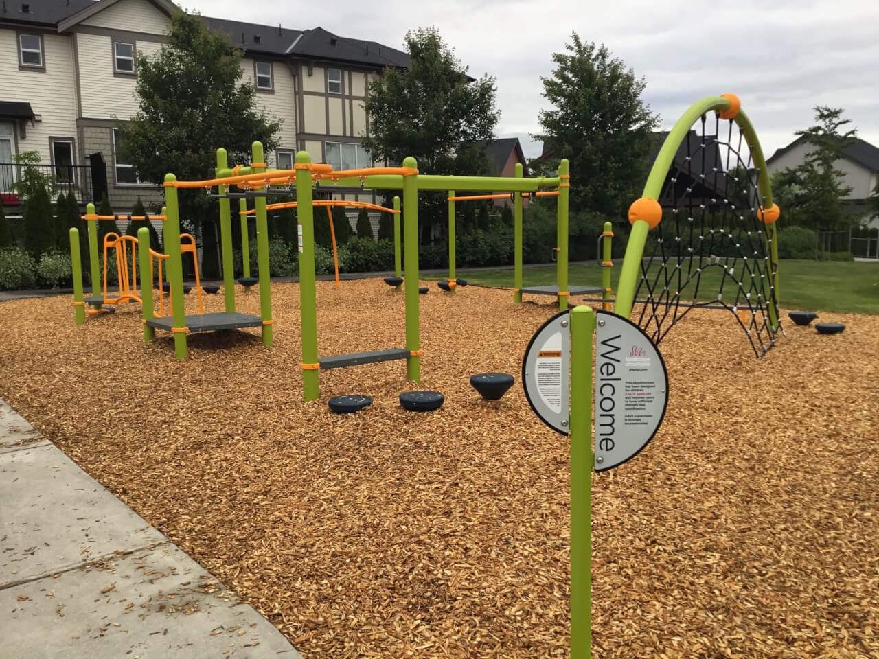Collision Playground Richard Bulpitt Elementary.