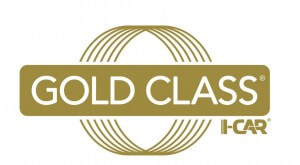I-Care Gold Class Logo - On Line Collision Langley Autobody and Repair