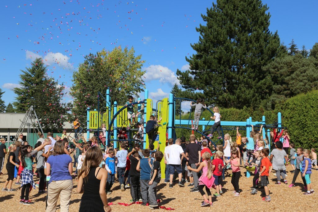 Langley playground built by On Line Collision
