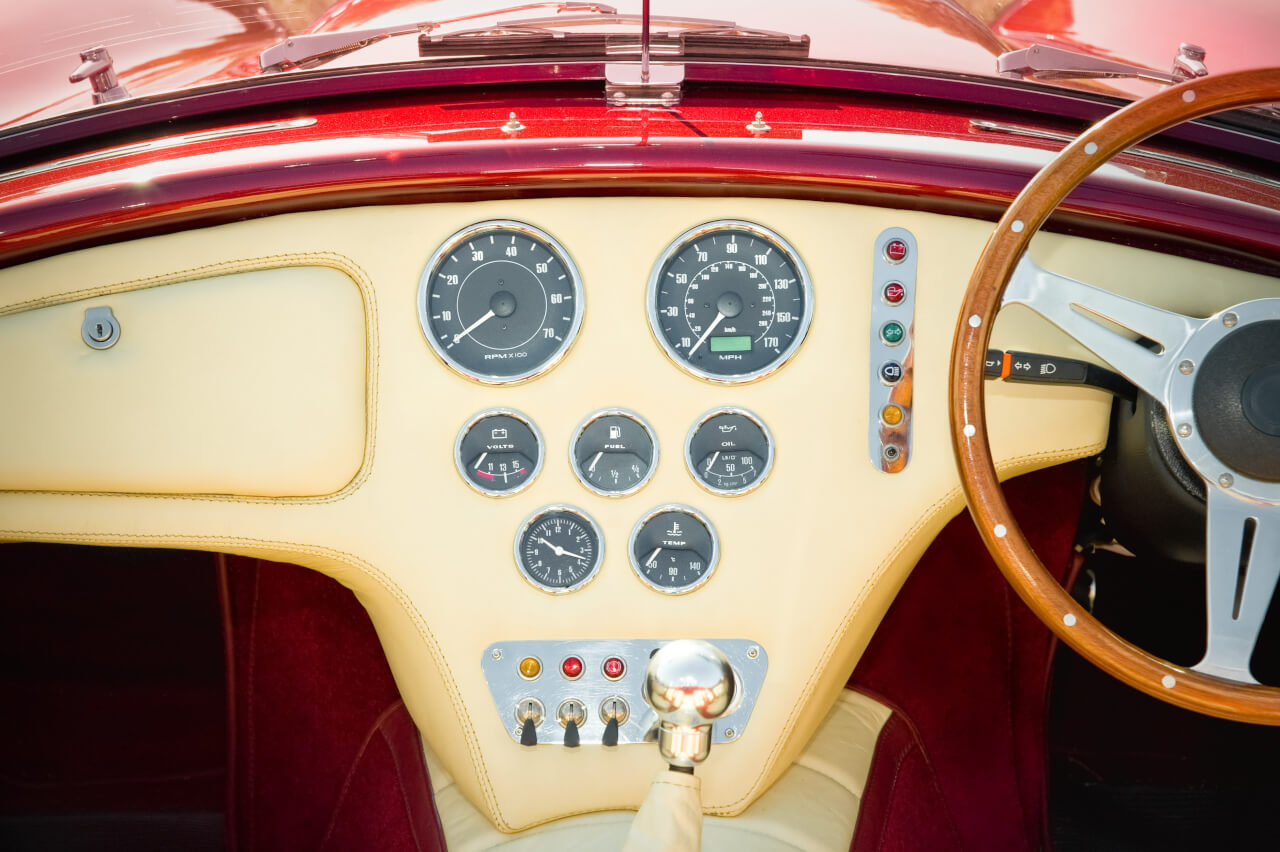 auto body repairs sports car interior image on line collision in Langley