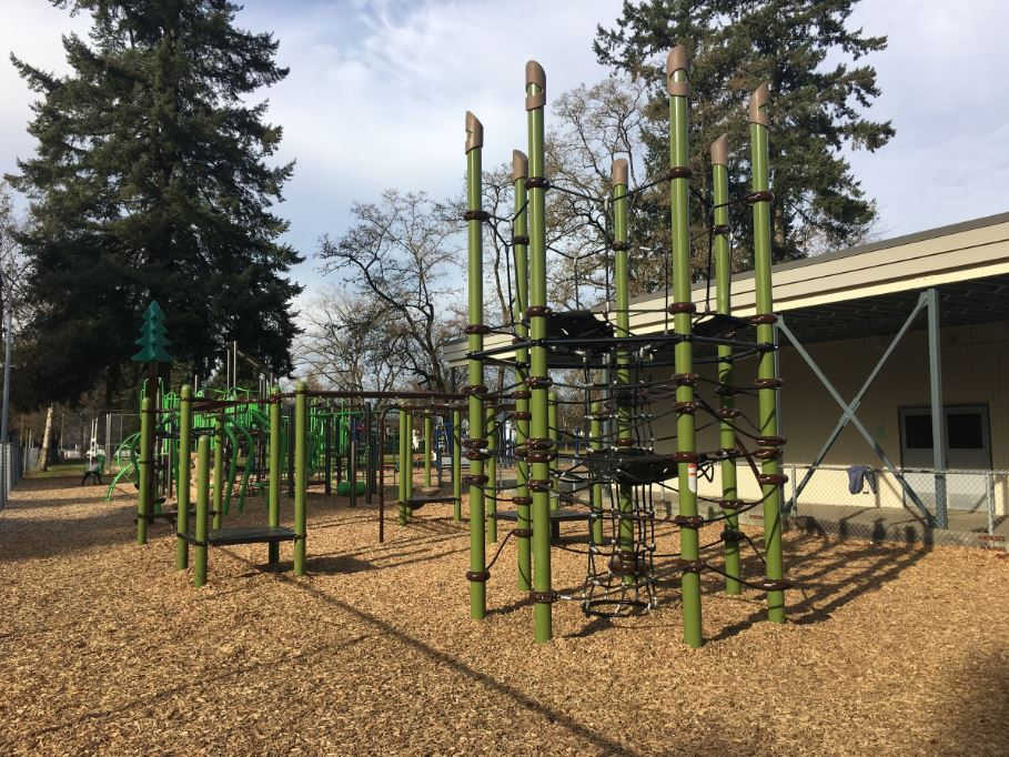 Fort Langley Playground - Online Collision
